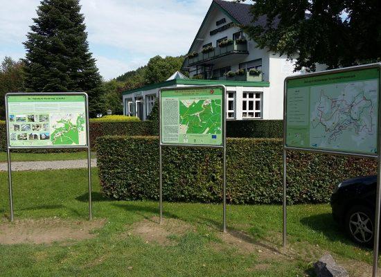 Wanderstartplatz Simonskall