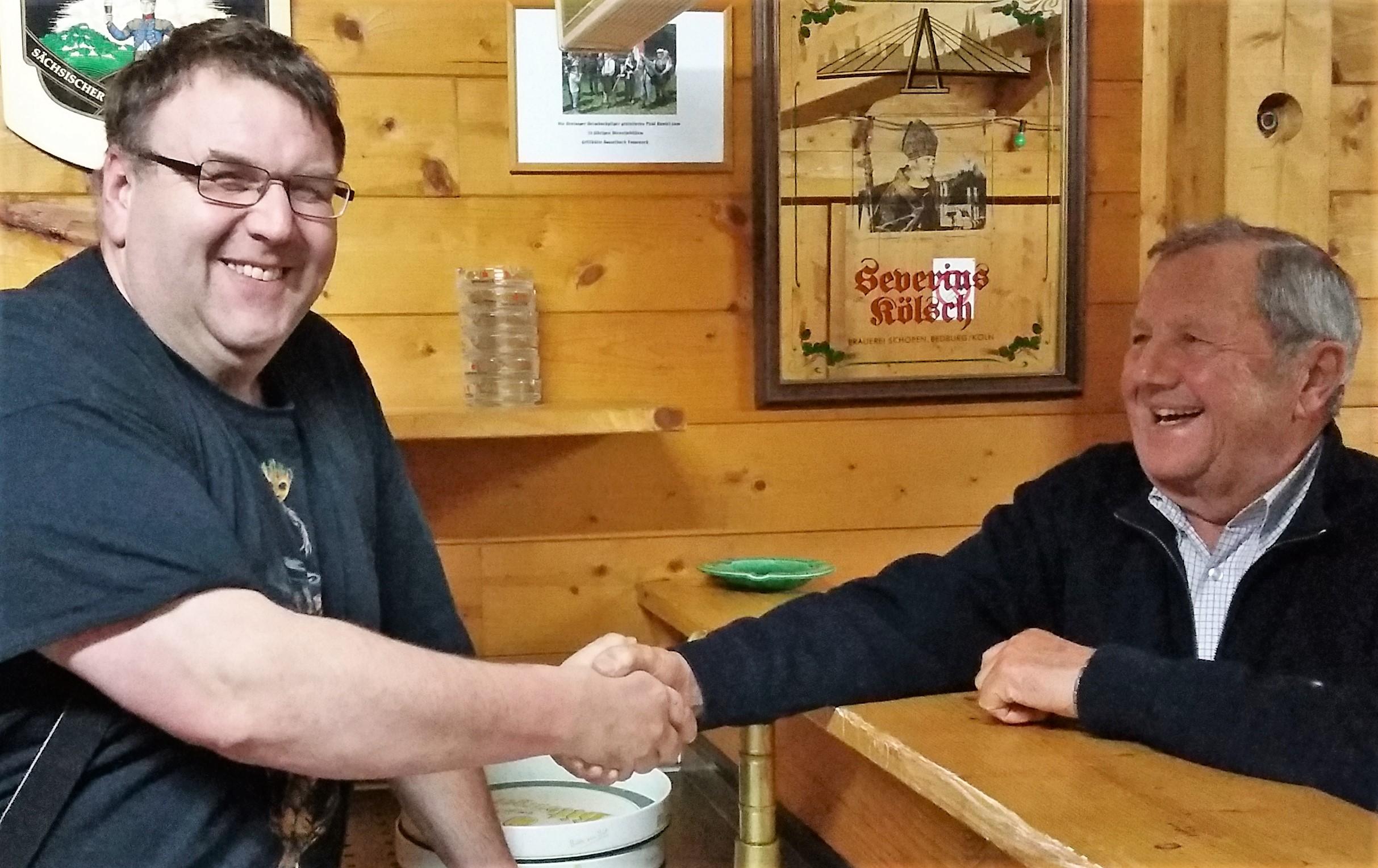 Grillhütte Bosselbach - neuer Hüttenwart